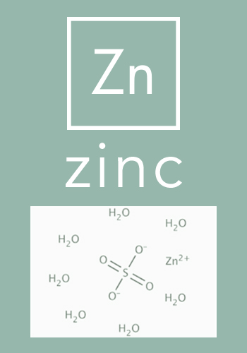 Zinc - healthy hair growth - Hair Vitalics supplement by The Belgravia Centre